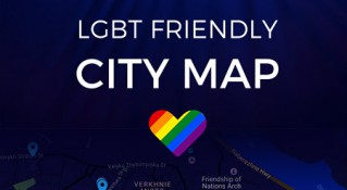 KyivPride presents a map of LGBT-friendly places