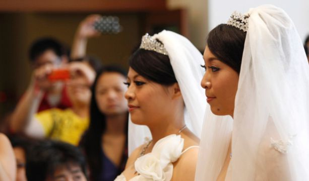 Poll: 71% of Taiwan supports marriage equality