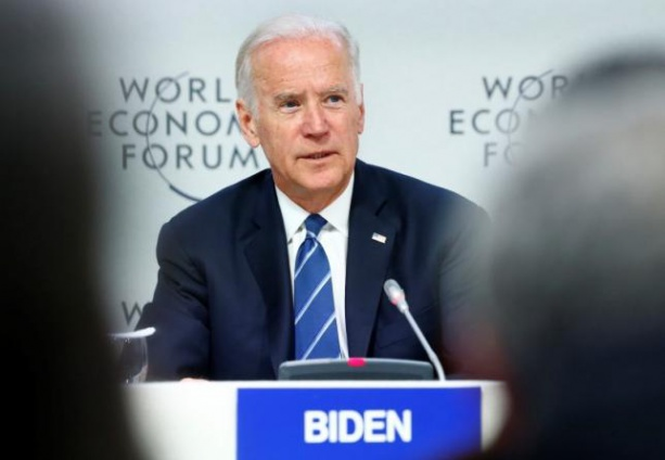 Biden urges U.S. business in Davos to lean on anti-gay states
