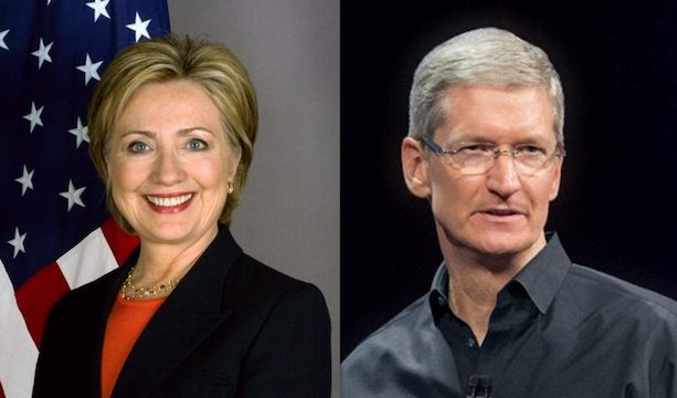 Apple CEO Tim Cook Was on Hillary Clinton's List of Potential Vice Presidential Canidates