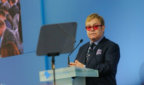 Sir Elton John speaks of tolerance and human rights