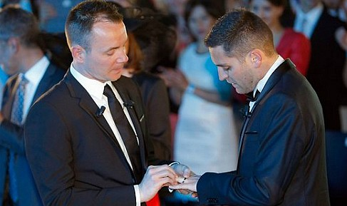 The first gay wedding in France