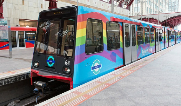 London is getting a rainbow TRAIN for Pride