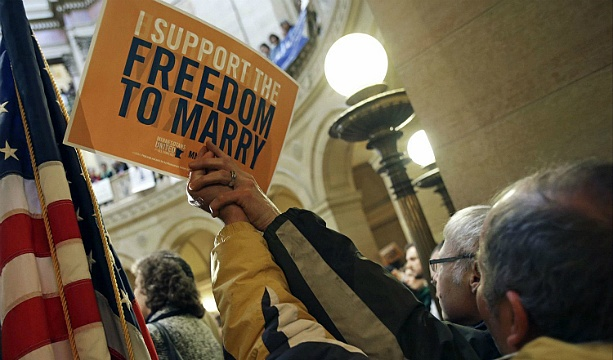 Minnesota now 12th state to approve gay marriage