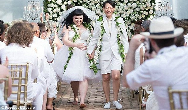 Beth Ditto Got Married!